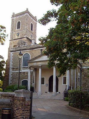 St Mary the Virgin Lewisham North West Kent Family History Society