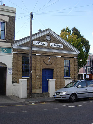 Zoar Chapel Milton-next-Gravesend North West Kent Family History Society