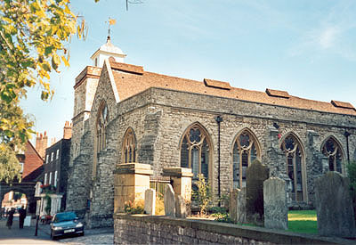 St Nicholas with St Clement Rochester North West Kent Family History Society