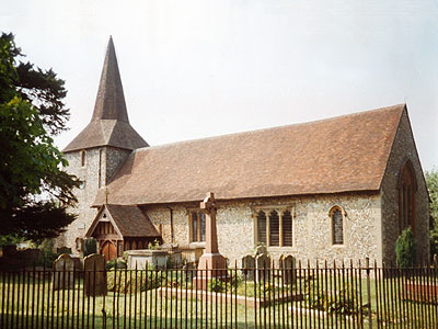St Mary the Virgin Downe North West Kent Family History Society