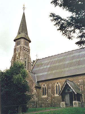 St Mary the Virgin Ide Hill North West Kent Family History Society