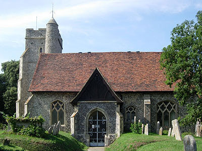 St John the Baptist Sutton-at-Hone North West Kent Family History Society