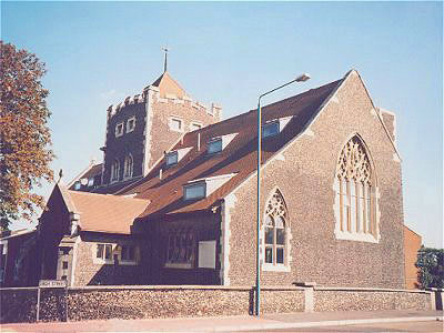 All Saints Swanscombe North West Kent Family History Society