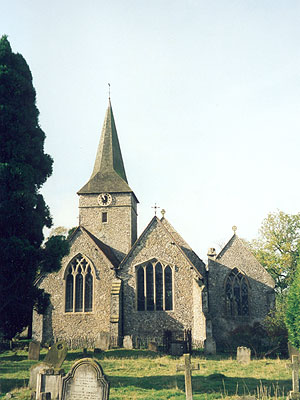 St Peter & St Paul Cudham North West Kent Family History Society