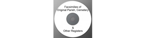 Original Parish, Cemetery & Other Register Facsimiles on Disc