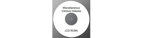 Miscellaneous Census Indexes (CD-ROM)